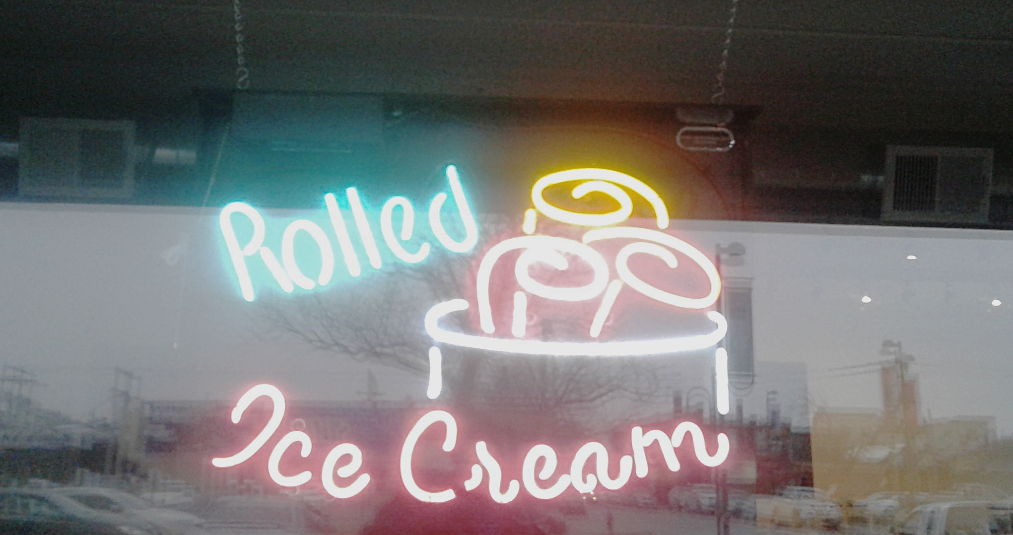 Pandora Rolled Ice Cream Aggieville Manhattan Kansas