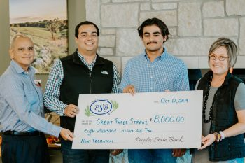 StartUp MHK 2019 Winner Great Paper Straws Manhattan Kansas
